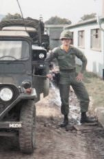 Ken Padgett serving in the US Army in Germany 1971